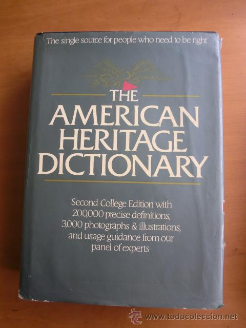 american heritage dictionary college edition