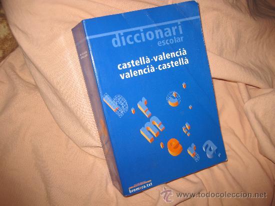 Diccionario bromera castellano valenciano val comprar - Libreria segunda mano valencia ...
