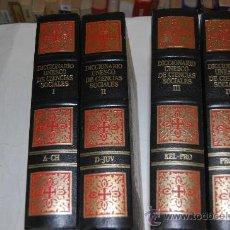 Diccionarios de segunda mano: DICCIONARIO UNESCO DE CIENCIAS SOCIALES. VV.AA AB22003. Lote 30674970