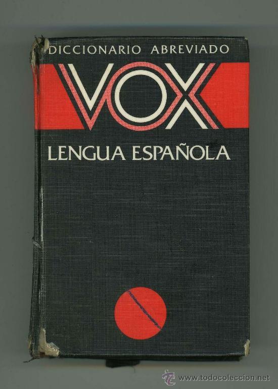 DICCIONARIO ABREVIADO VOX LENGUA ESPAÑOLA. (Libros de Segunda Mano - Diccionarios)