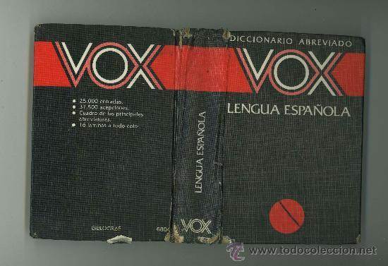 Diccionarios de segunda mano: DICCIONARIO ABREVIADO VOX LENGUA ESPAÑOLA. - Foto 2 - 30678556