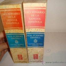 Diccionarios de segunda mano: DICCIONARIO DE LA LENGUA ESPAÑOLA, VIGÉSIMA PRIMERA EDICION. 2 TOMOS.REF.8. Lote 31033335