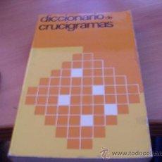 Diccionarios de segunda mano: DICCIONARIO DE CRUCIGRAMAS ( LITERO 1974 ) (LE4). Lote 31581967
