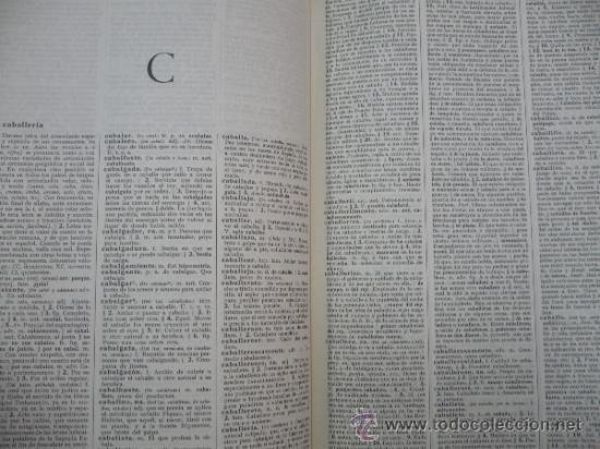 Diccionarios de segunda mano: DICCIONARIO DE LA LENGUA ESPAÑOLA. REAL ACADEMIA ESPAÑOLA. ESPASA CALPE. 19ª EDICION. 1970. Arm24 - Foto 3 - 31663895