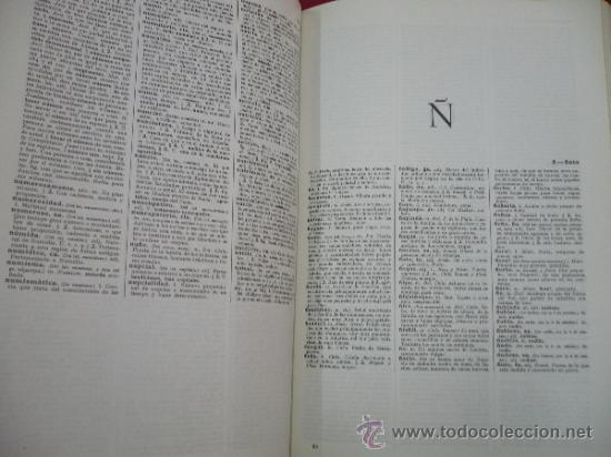 Diccionarios de segunda mano: DICCIONARIO DE LA LENGUA ESPAÑOLA. REAL ACADEMIA ESPAÑOLA. ESPASA CALPE. 19ª EDICION. 1970. Arm24 - Foto 4 - 31663895