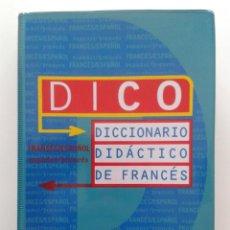 Diccionarios de segunda mano: DICO - DICCIONARIO DIDACTICO DE FRANCES - EDICIONES SM. Lote 31846970