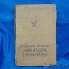 Diccionarios de segunda mano: DICCIONARIO ILUSTRADO - LATINO - ESPAÑOL/ESPAÑOL - LATINO - BIBLIOGRAF 1968. Lote 31884270