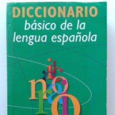 Diccionarios de segunda mano: DICCIONARIO BASICO DE LA LENGUA ESPAÑOLA - AGATA EDITORIAL. Lote 32375543