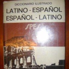 Diccionarios de segunda mano: DICCIONARIO ILUSTRADO / LATINO-ESPAÑOL ESPAÑOL-LATINO / AÑO 1964 / ED. BIBLOGRAF / VOX. Lote 32541878