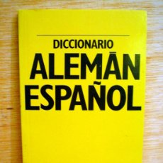 Diccionarios de segunda mano: DICCIONARIO ALEMAN-ESPAÑOL Y ESPAÑOL-ALEMAN.SOPENA.. Lote 33247178