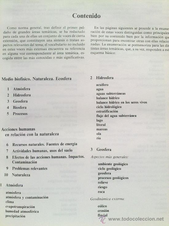 Diccionarios de segunda mano: Diccionario de la naturaleza. Hombre, Ecología, Paisaje - Foto 2 - 33336896
