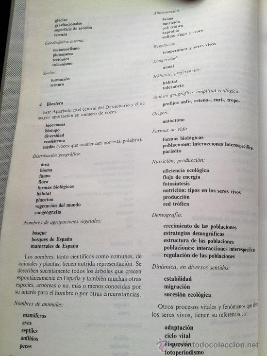 Diccionarios de segunda mano: Diccionario de la naturaleza. Hombre, Ecología, Paisaje - Foto 3 - 33336896