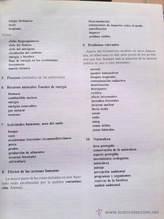 Diccionarios de segunda mano: Diccionario de la naturaleza. Hombre, Ecología, Paisaje - Foto 4 - 33336896
