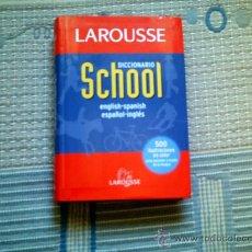 Diccionarios de segunda mano: DICCIONARIO SCHOOL LAROUSSE ENGLISH-SPANISH/ESPAÑOL-INGLES). Lote 33397402