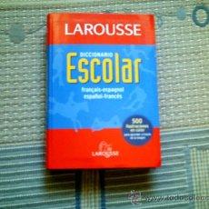 Diccionarios de segunda mano: DICCIONARIO LAROUSSE ESCOLAR FRANÇAIS-ESPAGNOL/ESPAÑOL-FRANCES. Lote 33397438