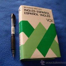 Diccionarios de segunda mano: DICCIONARIO VOX INGLES - ESPAÑOL ESPAÑOL - INGLES - BIBLIOGRAF S.A - ( 15 X 10.50 CTM ) - SIN USAR -. Lote 33473169
