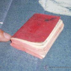 Diccionarios de segunda mano: DICCIONARIO MINIATURA DE CASTELLANO. 1937. GUERRA CIVIL. LOGROÑO = REGALO DICCIONARIO DANÉS-ESPAÑOL. Lote 33568121
