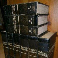 Diccionarios de segunda mano: DICCIONARIO ENCICLOPÉDICO 9T (COMPLETO) POR VARIOS AUTORES DE EDAF EN MADRID 1970. Lote 53643233