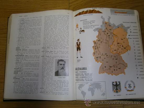 Diccionarios de segunda mano: Diccionario Enciclopédico 9T (Completo) por varios autores de Edaf en Madrid 1970 - Foto 5 - 53643233