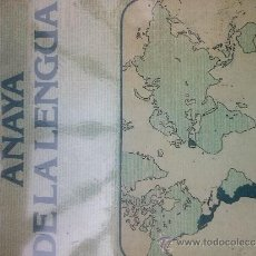 Diccionarios de segunda mano: DICCIONARIO ANAYA DE LA LENGUA 1979. Lote 34163020