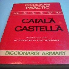 Diccionarios de segunda mano: DICCIONARI ARIMANY. CATALA-CASTELLA CASTELLA-CATALA. 1968. BARCELONA. DICCIONARIO. LIBRO. Lote 34278779