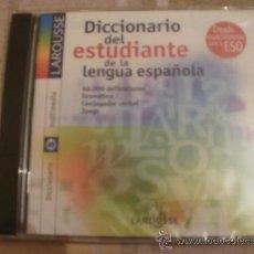Diccionarios de segunda mano: CDRM DICCIONARIO DEL ESTUDIANTE DE LA LENGUA ESPAÑOLA. Lote 34687700