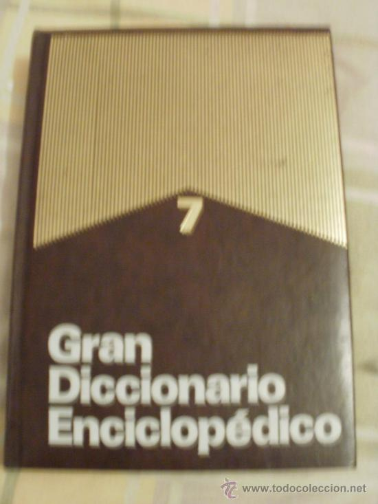 GRAN DICCIONARIO ENCICLOPEDICO DE ESPAÑOL INGLES (Libros de Segunda Mano - Diccionarios)
