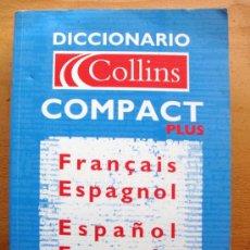 Diccionarios de segunda mano: DICCIONARIO FRANCÉS ESPAÑOL/E-F-COLLINS COMPACT DE GRIJALBO 2004. Lote 34755102