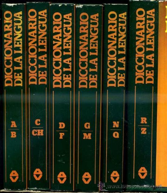 DICCIONARIO DE LA LENGUA ARGOS VERGARA - 6 TOMOS (1981) (Libros de Segunda Mano - Diccionarios)