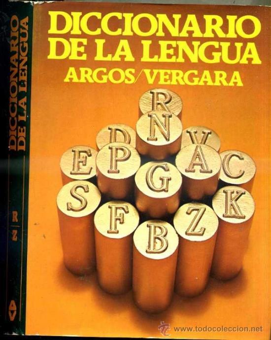 Diccionarios de segunda mano: DICCIONARIO DE LA LENGUA ARGOS VERGARA - 6 TOMOS (1981) - Foto 3 - 34956188