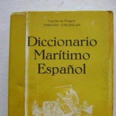 Diccionarios de segunda mano: DICCIONARIO MARITIMO ESPAÑOL.M523. Lote 99451432