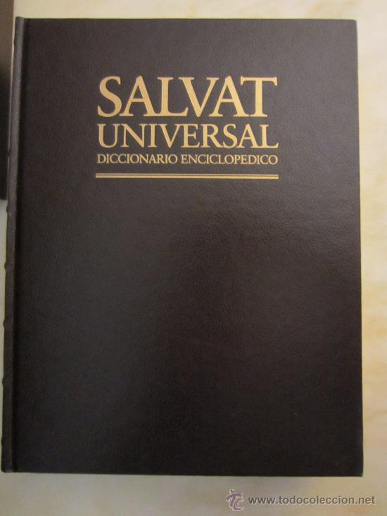 Diccionarios de segunda mano: SALVAT UNIVERSAL DICCIONARIO ENCICLOPÉDICO COMPLETO 20 TOMOS - Foto 3 - 35722181