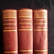 Diccionarios de segunda mano: DICCIONARIO ENCICLOPEDIDO ILUSTRADO. RAMON SOPENA. 3 VOL. 1954. Lote 36249822