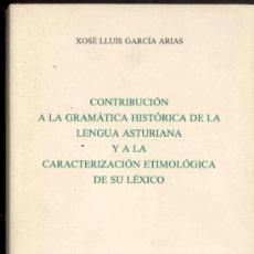 Diccionarios de segunda mano: CONTRIBUCION AL DICCIONARIO FOLKLORICO DE ASTURIAS -C. CABAL - APODO-ARRIERO - I.D.E.A -OVIEDO 1984. Lote 36446802