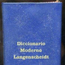 Diccionarios de segunda mano: DICCIONARIO ALEMAN ESPAÑOL Y ESPAPAÑOL ALEMAN 1965, 1024 PÁGINAS ( EMBÍO GRATIS ). Lote 36622261