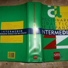 Diccionarios de segunda mano: DICCIONARIO DIDACTICO DE ESPAÑOL, INTERMEDIO, EDITORIAL SM, 1297 PAGINAS. Lote 37387693