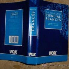 Diccionarios de segunda mano: DICCIONARIO ESENCIAL FRANCES, VOX. Lote 37443277
