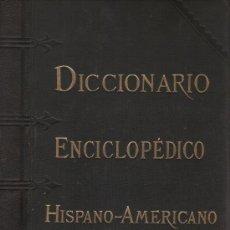 Diccionarios de segunda mano: DICCIONARIO ENCICLOPÉDICO HISPANO-AMERICANO. ED. MONTANER Y SIMÓN, BARCELONA, 1887. OBRA EN 26 TOMOS. Lote 37768791