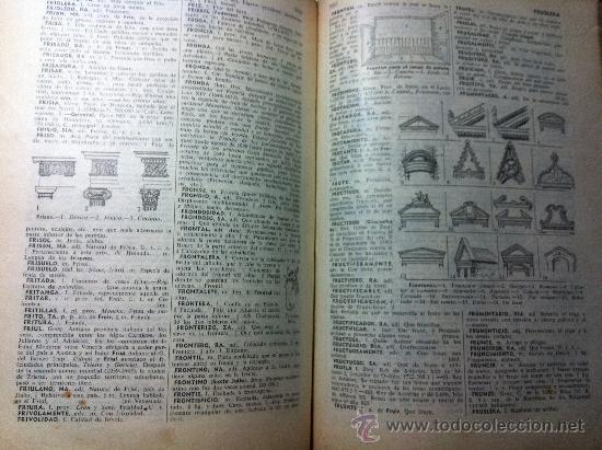 Diccionarios de segunda mano: ANTIGUO DICCIONARIO ENCICLOPEDICO ILUSTRADO. MANUAL SOPENA. EDITORIAL RAMON SOPENA. AÑO 1956 - Foto 3 - 38314011