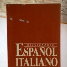 Diccionarios de segunda mano: DICCIONARIO ESPAÑOL-ITALIANO . Lote 38583086