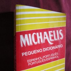 Diccionarios de segunda mano: MICHAELIS PEQUEÑO DICIONARIO ESPANHOL-PORTUGUÊS, PORTUGÊS-ESPAHNOL. ED. MELHORAMENTOS BRASIL 1992. Lote 38611276