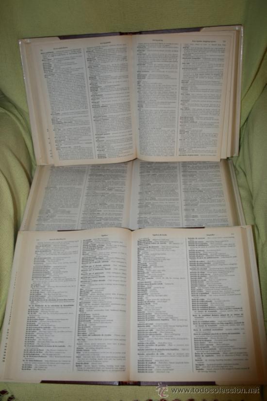 Diccionarios de segunda mano: Diccionario enciclopédico de términos técnicos inglés-español español/inglés. Collazo. McGraw-Hill. - Foto 9 - 39030206