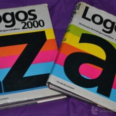 Diccionarios de segunda mano: DICCIONARIO DE LA LENGUA CASTELLANA EN DOS GRANDES TOMOS-LOGOS-CÍRCULO DE LECTORES-AÑO 1991. Lote 39333591