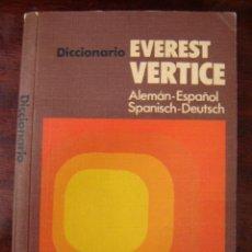 Diccionarios de segunda mano: DICCIONARIO EVEREST VERTICE, ALEMÁN-ESPAÑOL. Lote 39749254