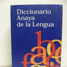 Diccionarios de segunda mano: DICCIONARIO ANAYA DE LA LENGUA. 2002, 1195 PAG.. Lote 39996859