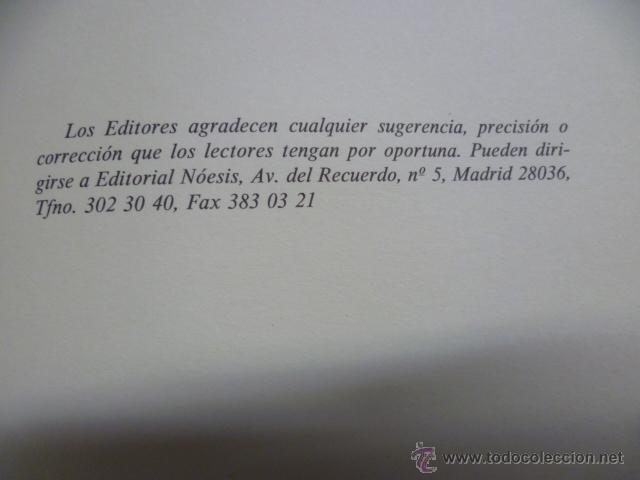 Diccionarios de segunda mano: Diccionario de Citas, 1996. Libro numerado de 8.500 ejemplares. Ejemplar 2967. - Foto 5 - 40001196