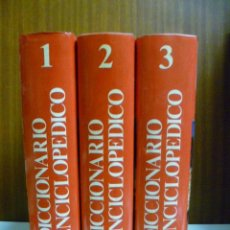 Diccionarios de segunda mano: DICCIONARIO ENCICLOPEDICO OCEANO - 3 TOMOS - ED. OCEANO - TAPAS DURAS - VER FOTO - AÑO 1989. Lote 40462296