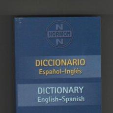 Diccionarios de segunda mano: MINI DICCIONARIO ESPAÑOL - INGLES.. Lote 40482944