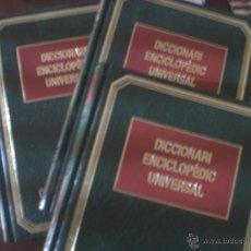 Diccionarios de segunda mano: DICCIONARI ENCICLOPÈDIC UNIVERSAL - 3 TOMOS. Lote 40815046