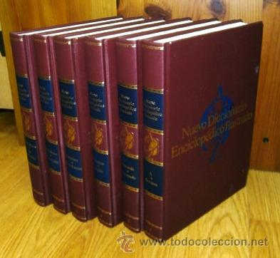 Diccionarios de segunda mano: Nuevo diccionario enciclopédico ilustrado 6T de Club Internacional Libro / Durvan en Bilbao 1998 - Foto 5 - 41110485